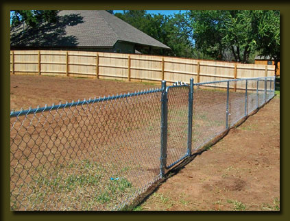 Aarons Okie Fence Company Oklahoma chain link fencing