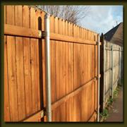 Comparison to older fence