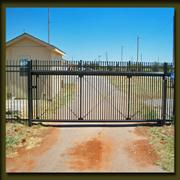 Stronger commercial slide gate